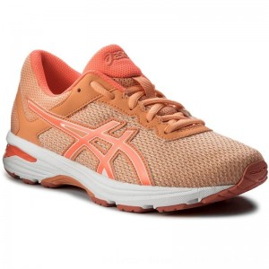 Asics Schuhe GT-1000 6 Gs C740N Apricot Ice/Flash Coral/Canteloupe 9506 [Outlet]