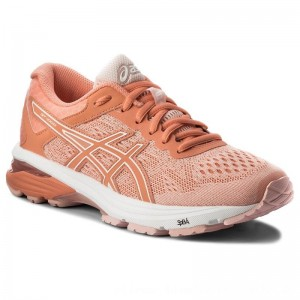 Asics Schuhe GT-1000 6 T7A9N Seashell Pink/Begonia Pink/White 1706 [Outlet]