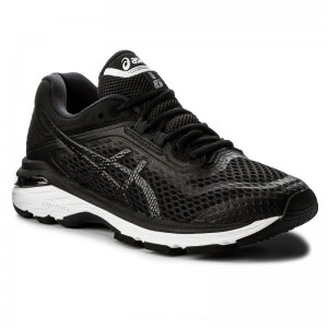 Asics Schuhe GT-2000 6 T855N Black/White/Carbon 9001 [Outlet]