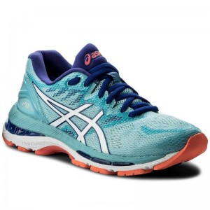 Asics Schuhe Gel-Nimbus 20 T850N Porcelain Blue/White/Asics Blue 1401 [Outlet]