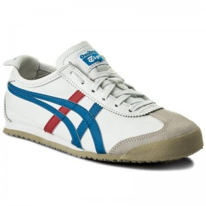 Asics Sneakers ONITSUKA TIGER Mexico 66 DL408 White/Blue 0146 [Outlet]