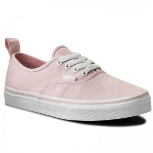 Vans Turnschuhe Authentic Elastic VN0A38H4Q1C Chalk Pink/True White [Outlet]