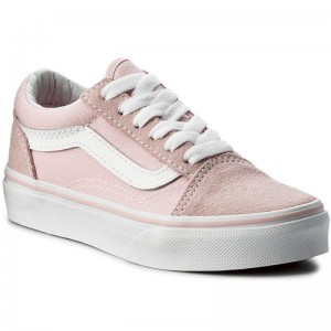 Vans Turnschuhe Old Skool VN0A38HBQ7K (Suede/Canvas) Chalk Pink [Outlet]