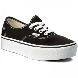 Vans Turnschuhe Authentic Platform VN0A3AV8BLK Black [Outlet]