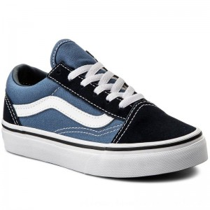 Vans Turnschuhe Old Skool VN000W9TNWD Navy/True White [Outlet]