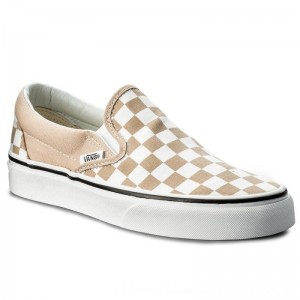 Vans Turnschuhe Classic Slip-On VN0A38F7QCO (Checkerboard) Frappe/Tru [Outlet]