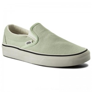 Vans Turnschuhe Classic Slip-On VN0A38F7QE4 (Suede) Ambrosia/True Whi [Outlet]