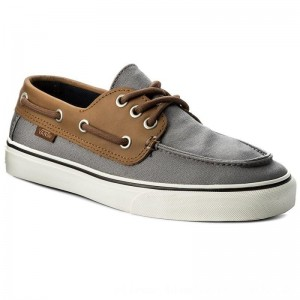 Vans Turnschuhe Chauffeur Sf VN0A3MUBQC3 (C&L) Frost Gray/Marshmal [Outlet]
