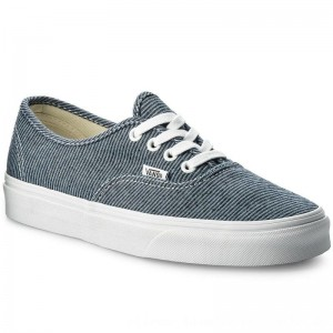 Vans Turnschuhe Authentic VN0A38EMQ8U (Jersey) Blue/True White [Outlet]