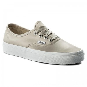 Vans Turnschuhe Authentic VA38EMQ9J (Satin Lux) Light Silver
