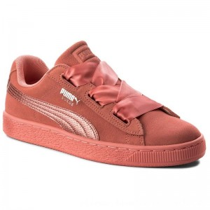 [BLACK FRIDAY] Puma Sneakers Suede Heart SNK Jr 364918 05 Shell Pink/Shell Pink