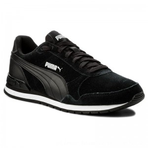 Puma Sneakers St Runner v2 Sd 365279 01 Black/Puma Black [Outlet]