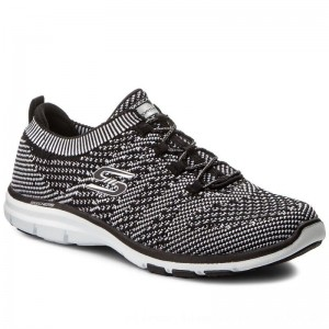 Skechers Schuhe Galaxies 22882/BKW Black/White [Outlet]