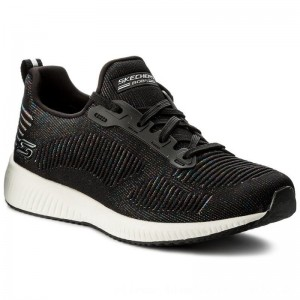 Skechers Schuhe BOBS SPORT Multifaceted 31366/BKMT Black/Multi [Outlet]