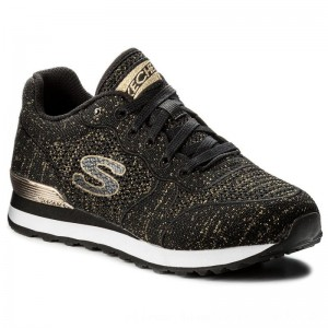 Skechers Sneakers Low Flyers 709/BKGD Black/Gold [Outlet]