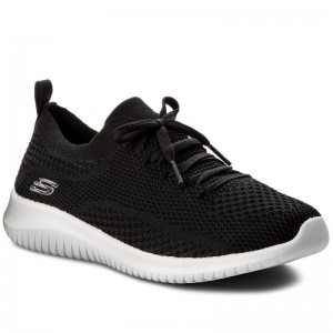 Skechers Sneakers Statements 12841/BKW Black/White [Outlet]