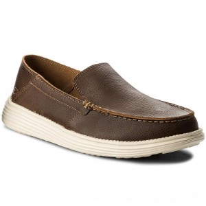 Skechers Mokassins Breson 65505/BRN Brown [Outlet]