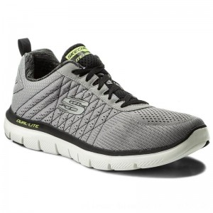 [BLACK FRIDAY] Skechers Schuhe The Happs 52185/LGBK Light Gray/Blk