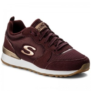 Skechers Sneakers Goldn Gurl 111/BURG Burgundy [Outlet]