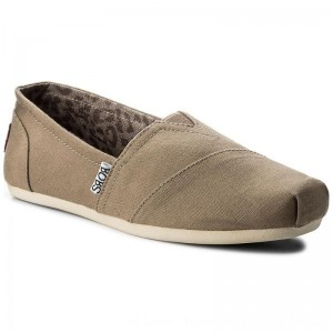 Skechers Halbschuhe BOBS Peace & Love 33645/TPE Taupe [Outlet]