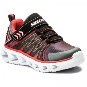 Skechers Halbschuhe Hypno-Flash 2.0 90585L/CCRD Charcoal/Red [Outlet]
