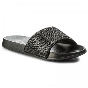 Skechers Pantoletten Summer Chic 31546/BBK Black [Outlet]