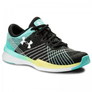 Under Armour Schuhe Ua W Threadborne Push Tr 1296206-003 Blk/Tro/Wht [Outlet]