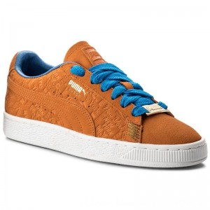 Puma Sneakers Suede Classic 366293 01 Vibrant Orange [Outlet]