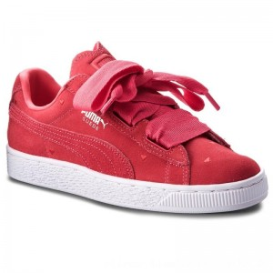 [BLACK FRIDAY] Puma Sneakers Suede Heart Valentine Jr 365135 01 Paradise Pink/Paradise Pink