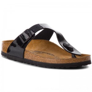 [BLACK FRIDAY] Birkenstock Zehentrenner Gizeh Bs 0043663 Black Patent