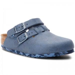 [BLACK FRIDAY] Birkenstock Pantoletten Arizona Kids 1008341 Sandwashed Blue