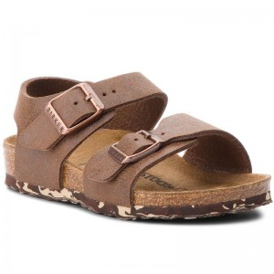 Birkenstock Sandalen New York Kids Bs 1008350 Brown [Outlet]