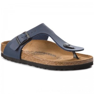 [BLACK FRIDAY] Birkenstock Zehentrenner Gizeh Bs 0143623 Blue