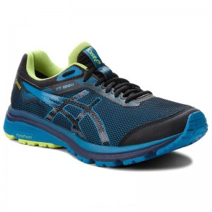 Asics Schuhe GT-1000 7 G-Tx GORE-TEX 101A037 Black/Race Blue 001 [Outlet]