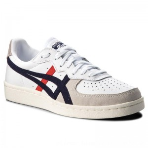 Asics Sneakers ONITSUKA TIGER Gsm D5K2Y White/Peacoat 100 [Sale]