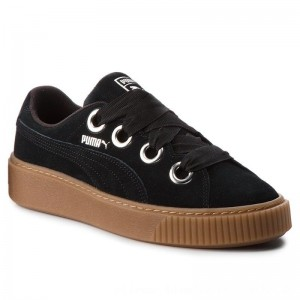 [BLACK FRIDAY] Puma Sneakers Platform Kiss Suede 366461 01 Black/Puma Silver