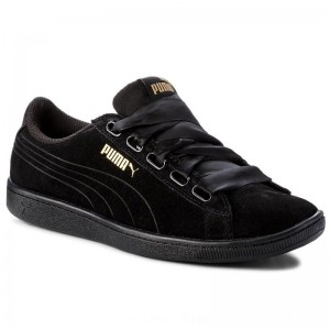 Puma Sneakers Vikky Ribbon S 366416 01 Black [Outlet]