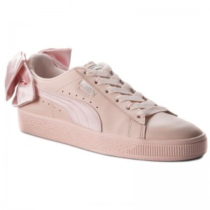 [BLACK FRIDAY] Puma Sneakers Basket Bow Wn's 367319 02 Pearl/Pearl