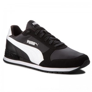 Puma Sneakers St Runner V2 Nl 365278 01 Black/Puma White [Outlet]