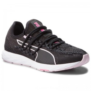 Puma Schuhe Speed Recer Wn 191063 01 Black/Winsome Orchid/Kpink [Outlet]