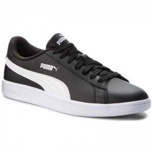 Puma Sneakers Smash V2 L 365215 04 Black/Puma White [Outlet]