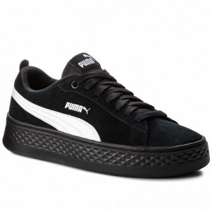 Puma Sneakers Smash Platform Sd 366488 02 Black/Puma White [Outlet]