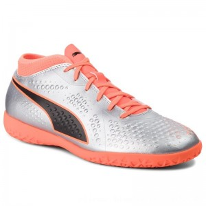 Puma Schuhe One 4 Syn It 104750 01 Silver/Orange/Black [Outlet]