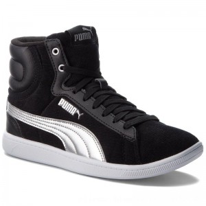 [BLACK FRIDAY] Puma Sneakers Vikky Mid Cord 366813 01 Black/Puma Silver