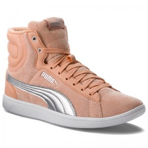 Puma Sneakers Vikky Mid Cord 366813 02 Dusty Coral/Puma Silver [Outlet]