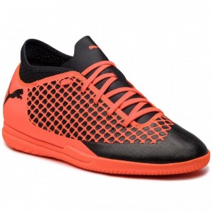Puma Schuhe Future 2.4 It 104846 21 Black/Orange [Outlet]