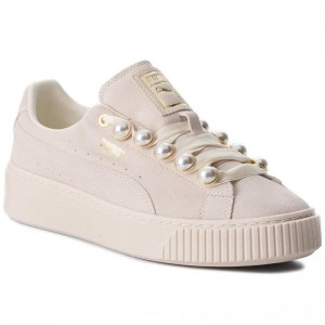 [BLACK FRIDAY] Puma Sneakers Suede Platform Bling Wn's 366688 02 Whisper White/Whisper White