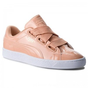 Puma Sneakers Basket Heart Patent 363073 16 Dusty Coral/Dusty Coral [Outlet]