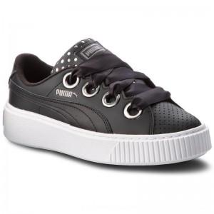 Puma Schuhe Platform Kiss Ath Lux Wn's 366704 02 Black/Puma Black [Outlet]
