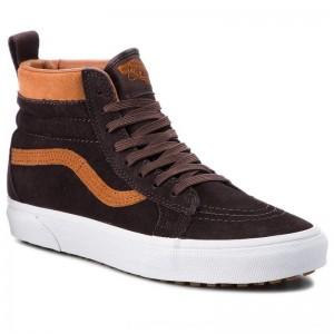 Vans Sneakers Sk8-Hi Mte VN0A33TXUCA (Mte) Suede/Chocolate Tor [Outlet]